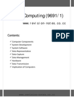 57135443 a Level Computing 9691 Paper 1 Notes