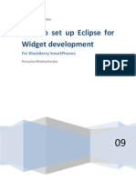 WidgetTutorial How to Set Up Eclipse for Widget Development
