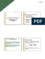 Microsoft Power Point - Adm de Estoques [Modo de Compatibilidade