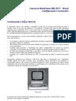 Concurso Mainframe Ibm 2011 Configuracao
