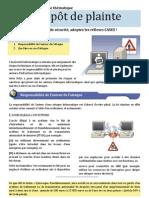 Depot de Plainte