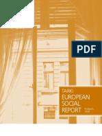 European Social Report 2008