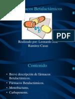 Farmacos betalactámicos