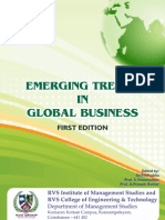 Emerging Trends in Global Business