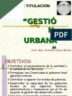 gestión urbana