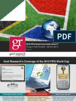 2010 FIFA World Cup Online Media Analysis Refresh