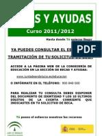 Becas y ayudas 2011-2012