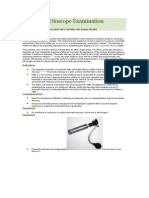Pneumatic Otoscope Examination