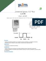 fotocelula 12V
