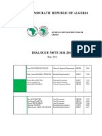 Algeria- Dialogue Note 2011-2012 (01 Juin 2011) Revised English Final