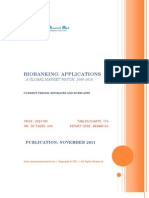 Bio Banking - Applications, 2009-2015 - Broucher