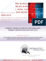Cardiac Rhythm Management (CRM) Devices - Emerging Markets BRICSS, 2009-2015