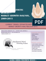 Global Cardiac Prosthetic Devices - Market Growth Analysis, 2009-2015