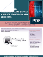 Global Cardiac Rhythm Management (CRM) Devices - Market Growth Analysis, 2009-2015