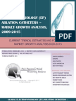 Global Electrophysiology (EP) Ablation Catheters - Market Growth Analysis, 2009-2015