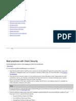 Guía de Administrador de Client Security