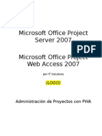 Microsoft Office Project Server 2007