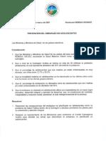 Resolucion XXVII 437 REMSA para la prevencion del embarazo en la adolescencia