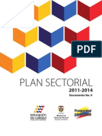 Plan Sectorial