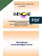 Captação de Recursos e DLIS - Processos Complexos Com Relações Amplas e Complexas