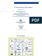 SEG Monthly Flash Report September 2011