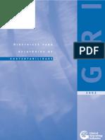Diretrizes Para Relatórios de Sustentabilidade