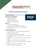 Plan Cuidados Neonatologia Estenosis Piloro