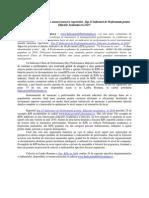 Top 25 KPIs Pentru Educatie Academica in 2010