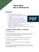 Ejecutar Word 2007