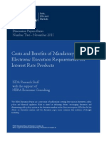 ISDA Mandatory Electronic Execution Discussion Paper