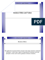 Business Ethics and Values.