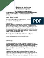 Alimentação Diretriz Da Sociedade Brasileira de Medicina Do Esporte - Nutrologia
