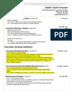 A.pleasant Resume 10.26