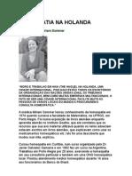 a - a Na Holanda - Entrevista - Miriam Sommer - Farmácia Homeopática