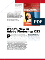 Whats New in Photoshop Cs3