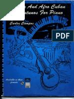 Partituras - Piano) Salsa & Afro Cuban Montunos)