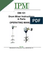 Drum Mixer Inst Manual Revised 5-4-09