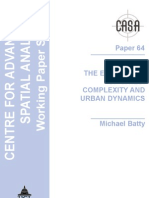 The Emergence of Cities - Complexity and Urban Dynamics - Michael Batty