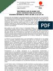 Comunicado Cut Contra La Reforma a La Ley 30