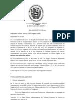 SALA CONSTITUCIONAL 1149-171110-2010-10-1039