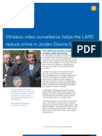 Los Angeles Police Department Case Study