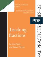 manual enseñanza de fracciones