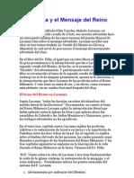 La Creencia EscatolÓgica de Manuel Lacunza, y El to Del Adventismo Del Reino Original