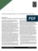 TransnationalCorporations CFP