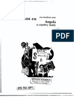 Area Handbook - Angola