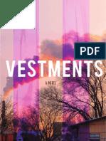 Vestments | A Novel by John Reimringer