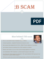 Crb Scam Final 25082011