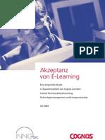 Studie 5 Innotec E LearningAkzeptanz