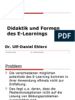 E Learning Didaktik