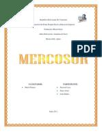 Trabajo de Mercosur